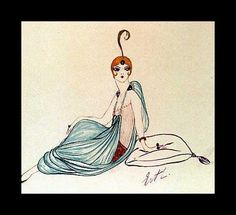 Erte. What is it worth? Our art experts provide certificates of authenticity (COA). Call 212-203-7833 to discover your painting's value, get expert painting authentication; certified art appraisers and art valuers.