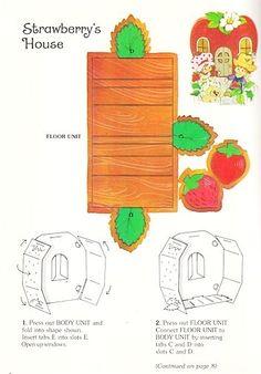 Paper Dolls~Strawberry Shortcake ToyBook - Bonnie Jones - Picasa Web Albums
