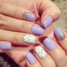 Purple/glitter