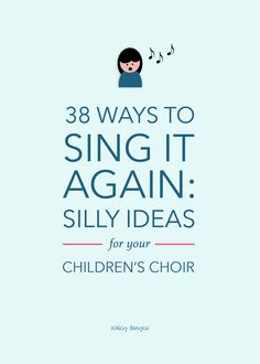 Lds primary singing time - 38 Ways to Sing it Again Silly Ideas for Your Children's Choir – Lds primary singing time Singing Classes, Singing Games, Singing Lessons, Music Lessons, Singing Quotes, Singing Tips, Preschool Music, Music Activities, Teaching Music