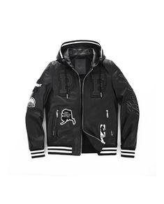 High Fashion Goatskin Letterman Bomber Leather Jacket, Chic & Cool Aesthetic Boys Leather Jacket, Leather Men, Real Leather, Motorcycle Jacket, Bomber Jacket, Mens Fashion, High Fashion, Adidas Jacket, Street Style