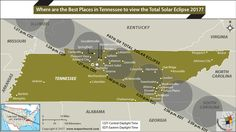 16 Best Total Solar Eclipse 2017 Path Map & images