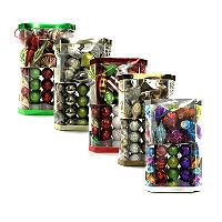 shatterproof ornaments choose your style and color options sams club - Sams Christmas Decorations