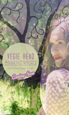 I've got some exciting announcements coming over the next few weeks...... But in the meantime.... ;) !  #vh2014 #vhtour  www.vegiehead.com