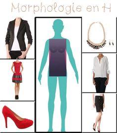 Look pour une morphologie en H, 100% LaModeuse  www.lamodeuse.com  #Look #Morpho #Mode #Lamodeuse