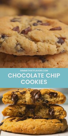 These chocolate chip cookies are wonderfully soft and chewy and packed with chocolate chips (and chunks! Super easy and totally divine! Milk Chocolate Chip Cookies, Chocolate Candy Recipes, Chocolate Chip Oatmeal, Chocolate Chips, Fun Baking Recipes, Sweet Recipes, Cookie Recipes, Dessert Recipes, Momofuku Recipes