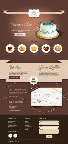 cake shop | #webdesign #it #web #design #layout #userinterface #website #webdesign <<< repinned by an #advertising #agency from #Hamburg / #Germany - www.BlickeDeeler.de | Follow us on www.facebook.com/BlickeDeeler