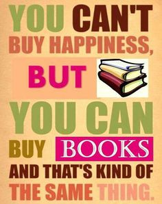 Happiness = books