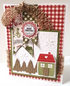 Country Home for Christmas by dani114 - Cards and Paper Crafts at Splitcoaststampers