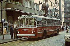 1970-es évek. Budai Nagy Antal utca , végállomás.