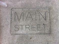 Main St Sidewalk