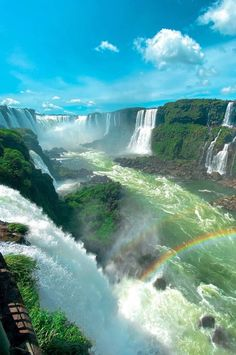 Places Around The World, Around The Worlds, Largest Waterfall, Argentine, Les Cascades, Ushuaia, Beautiful Waterfalls, Nature Images, Nature Nature