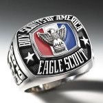 Jostens will help Eagle Scouts® celebrate their achievement with customized and personalized rings under license from the Boy Scouts of America® Boy Scout Troop, Scout Mom, Girl Scout Swap, Scout Leader, Cub Scouts, Girl Scouts, Eagle Scout Project Ideas, Eagle Scout Gifts, Eagle Scout Ceremony