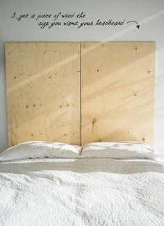 HGTV Headboards | DIY Book Headboard / Design Every Day