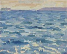Meri by Santeri Salokivi (1886-1940 finnish)
