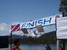 Beautiful finish line for the Redfish Lake Lodge Memorial run.    http://www.redfishlake.com/redfish-lake-lodge-memorial-run/