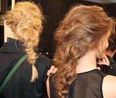 Tousled braid