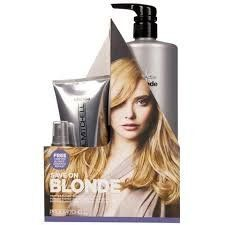 Paul Mitchell Forever Blonde Shampoo, Conditioner and Dramatic Repair Trio -- Want to know more, click on the image.