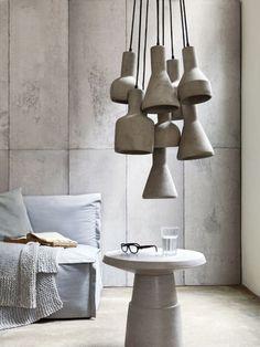 Echte beton lampen?