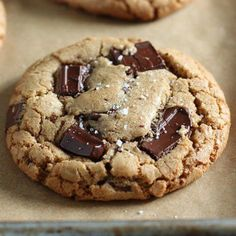 Chewy, gooey, and crunchy Brown Butter Chocolate Chunk Cookies are ultra flavorful and will surely be your new favorite cookie recipe! No mixer required!