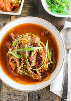 Spicy Shredded Beef Soup - Yukgaejang (육개장)