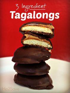 Ingredient Tagalong Cookies 3 Ingredient Tagalongs (Easy No Bake Cookie) – Ingredient Tagalongs (Easy No Bake Cookie) – Köstliche Desserts, Delicious Desserts, Dessert Recipes, Yummy Food, Plated Desserts, Easy Homemade Cookies, Easy No Bake Cookies, Gs Cookies, Shortbread Cookies