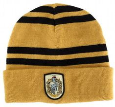 $9.99 - Harry Potter Hufflepuff House Cosplay Costume Winter Warmth Beanie Hat #ebay #Collectibles