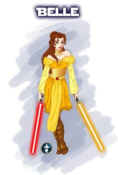 Jedi Princess Belle More