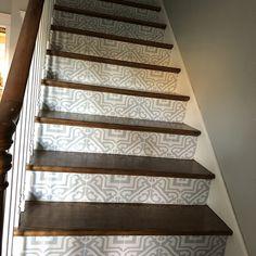 Tile Decals Tiles for Kitchen/Bathroom Back splash Floor | Etsy Removable Vinyl Wall Decals, Tile Decals, Vinyl Decals, Marble Effect Wallpaper, Vinyl Wallpaper, Floor Decal, Floor Stickers, Bar Tile, Stair Risers