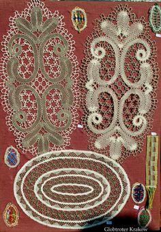 Bruges Bloomwork or bobbin tape lace