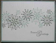 christmas ---- SU Snow Swirled
