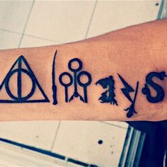 21 'Harry Potter' Quote Tattoos Every Hogwarts Fan Needs On Their Bodies Now
