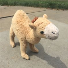 The real-life inspiration behind Remy's beloved Humphrey, the Ironically Named Camel. (Yes, there's a real Humphrey of Dubai! Life Inspiration, Camel, Real Life, Dubai, Wicked, Dinosaur Stuffed Animal, Novels, Prince, Animals