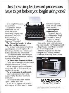 Just how simple do word processors have to get before you begin using one? | Modern Mechanix