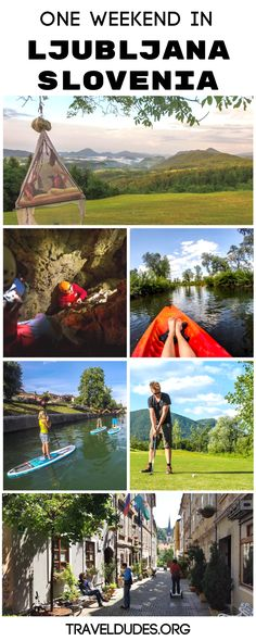 So you've fallen in love with the idea of visiting Ljubljana, Slovenia, but you have no idea how you're going to fit this entire trip into a long weekend off of work. Travel Jobs, Ways To Travel, Best Places To Travel, Europe Travel Guide, Travel Destinations, Traveling Europe, Travel Guides, Slovenia Travel, Bohinj