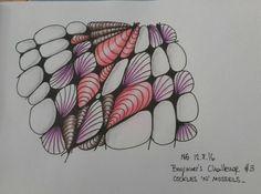 #zentangle #monotangle #zia #cockles #mossels