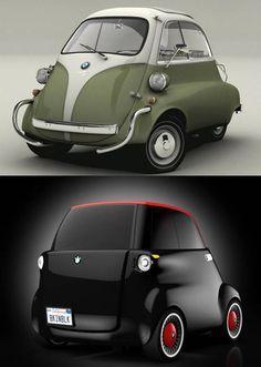 bmw e setta reimagined - Cool, very cool!