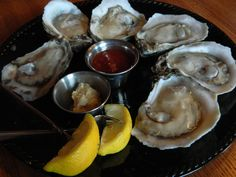 Oysters! Glenn's Cafe #Columbia Missouri
