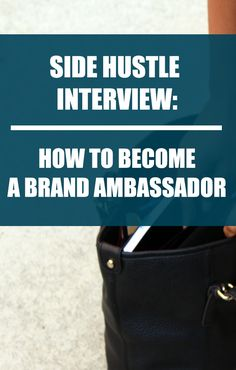 Side Hustle Interview: Making Money as a Brand Ambassador via @lifeandabudget