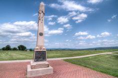 Memorial at Antietam Civil War Battlefield