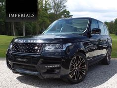 What do you think of our 2014 Imperials Ultimate Edition Range Rover Vogue finished in Santorini Black!? Now available for £67,995... Very rare colour combination!