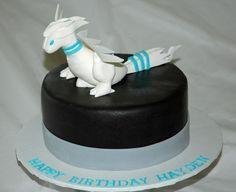 Pokemon Reshiram birthday cake  www.1gateau.com