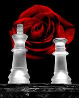 """a-lady-in-red: """" """"Every man needs a woman when his life is a mess, because just like in a game of chess; the QUEEN always protects the KING."""