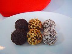 Deliciosa Video receta de Trufas de chocolate al coñac de Disfrutando de la Cocina - Cocina para disfrutar