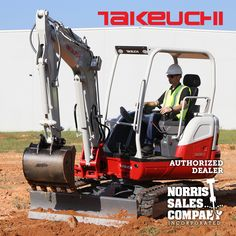 """The TB250-2 is Takeuchi's newest excavator in the 5 ton weight class filling the space between the current TB240 and TB260 models.  It has an operating weight of 10,957 lbs. (canopy) to 11,288 lbs. (cab), a dig depth of 12' 4.8"""" and max reach of over 20'.  Its 39 hp engine is Tier 4 final meeting all current EPA emissions regulations and provides outstanding access to all daily service points.  The TB250-2 will come equipped with a primary auxiliary circuit capable of 24.2 gpm of flow making… Canopy, Circuit, Flow, Landscaping, Engineering, Outdoors, Models, Space, Role Models"""