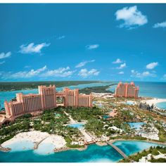 I've been in love with this resort for so long. I absolutely cannot wait to visit: Paradise Island - Nassau, Bahamas @ the Atlantis Resort.