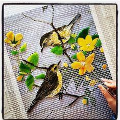 Mosaic by Elvan Basargan..