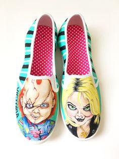 Chucky and tiffany shoes