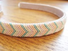 Make This - Knotted ChevronHeadband - Luxe DIY - How Did You Make This?