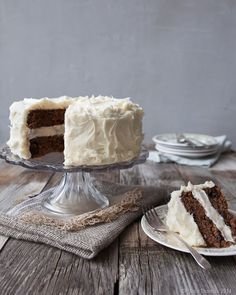 Parsnip Cake with Bourbon Brown Butter Frosting